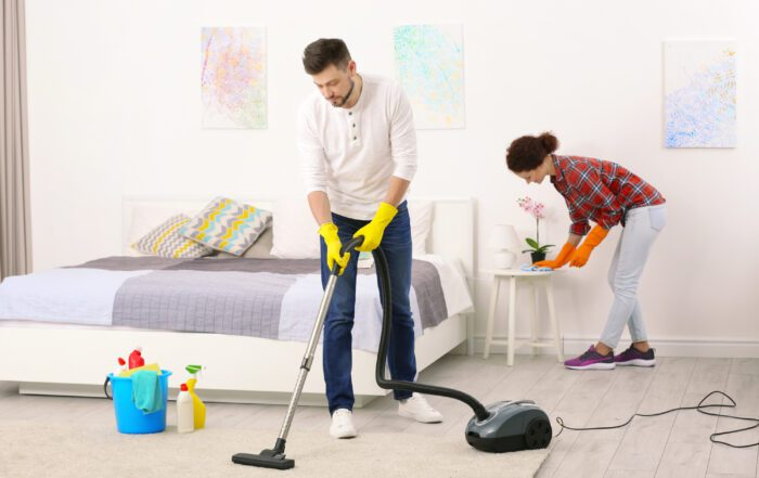 how to clean a bedroom
